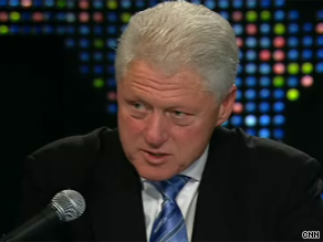 'I really think that we should disaggregate lingering problems of discrimination from the attacks to which the president is subject,' Bill Clinton tells Larry King.