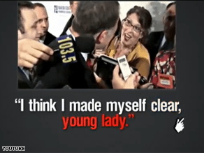 New GOP ad hits Deeds on remark to female reporter.