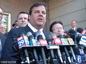 New Jersey Republican gubernatorial candidate Chris Christie Tuesday lands what his campaign calls a major endorsement.
