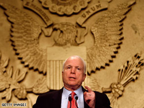 Sen. John McCain is coming to Virginia to campaign for Republican gubernatorial hopeful Bob McDonnell.