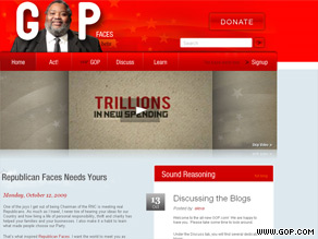 The RNC relaunched GOP.com Tuesday.