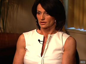 Nadia Comaneci as she appeared on CNN last year promoting Botox