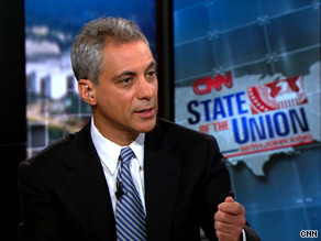 White House Chief of Staff Rahm Emanuel spoke out Sunday against the efforts of some Wall Street firms to lobby against proposed new financial regulations.