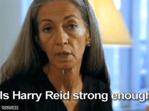 Liberals are attacking Harry Reid in a new television ad.