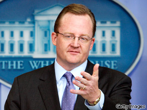 White House Press Secretary Robert Gibbs fired back at former Vice President Dick Cheney over troop levels in Afghanistan.