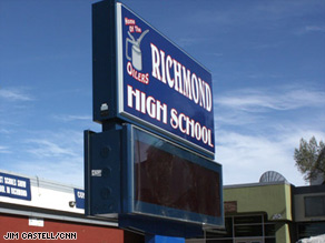 Police say a student at Richmond High School was gang raped outside during a homecoming dance.