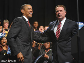 Exit poll: Obama not a big factor in Virginia.