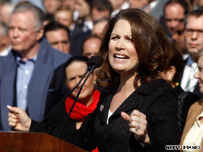 Rep. Bachmann was a main attraction at last week's event on Capitol Hill.
