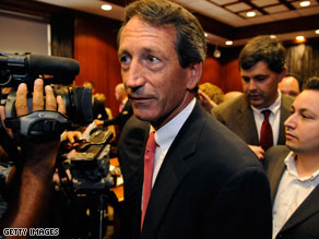 Sanford impeachment measure to be formally considered.