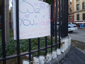 Tributes to 15-year-old Vada Vasquez, who was shot in the head on her way home from school earlier this week.