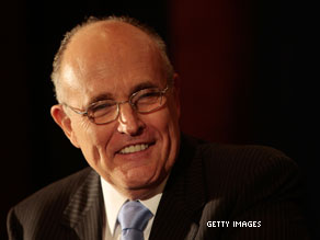 Rudy Giuliani may have his eye on becoming the next U.S. Senator from New York.