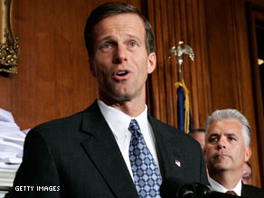 South Dakota Sen. John Thune is a potential 2012 presidential candidate.