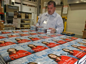 Palin's book tour continues after the holiday.