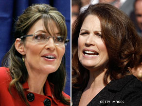 Palin, Bachmann to headline Tea Party convention.