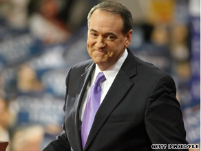 Former Arkansas Gov. Mike Huckabee says he will be looking at the 2010 midterm election results as part of his decisionmaking about 2012.