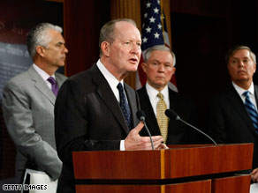 Sen. Lamar Alexander, R-Tennessee, said he supports the mission change, but he has concerns about the exit strategy.