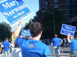 Norwood was the leader on Election Day but failed to garner 50 percent of the vote.