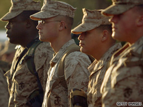 The Pentagon announced Monday that Marines from Camp Lejeune will be heading to Afghanistan later this month.