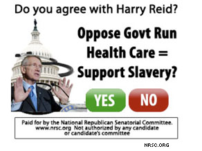 Harry Reid is being targeted by the National Republican Senatorial Committee.