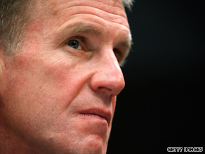 Gen. Stanley McChrystal spoke before members of Congress Tuesday about the outlook in Afghanistan.