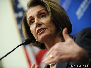 House Speaker Nancy Pelosi reiterated on a conference call Wednesday that her goal is to get a final health care reform bill to President Obama's desk before his State of the Union address.