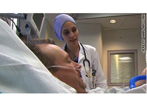 Dr. Taghrid Altoos is a first year resident at Exempla St. Joseph Hospital.