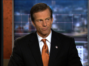 Sen. Thune criticized the White House and congressional Democrats for their spending and also acknowledged that Republicans share some of the blame for excessive spending and borrowing in the past.