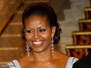 Michelle Obama's stock is on the rise as more Americans approve of how she is handling her role as first lady.