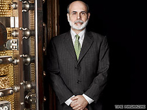 Bernanke has been named Time's Person of the Year.