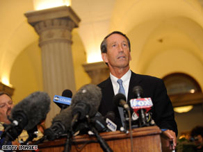 South Carolina panel votes against impeaching Sanford.