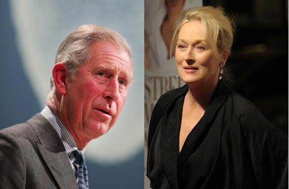 How would you link Prince Charles and actress Meryl Streep?