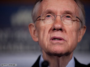 Senate Majority Leader Harry Reid on Tuesday announced that the Senate would vote on its health care bill on Thursday morning.