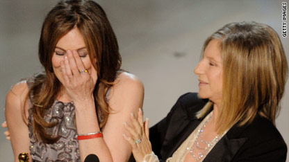 Kathryn Bigelow became the first woman to win Best Director for 'The Hurt Locker'.
