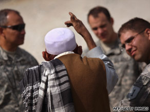 U.S. intelligence officers in Afghanistan have likened their task to fortune telling.