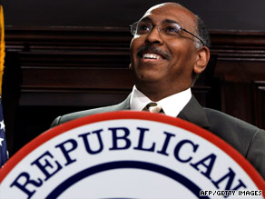 Michael Steele: Republican National Chairman.
