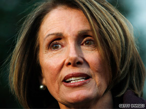 House Speaker Nancy Pelosi and other leading House Democrats met with the president Wednesday about health care reform.