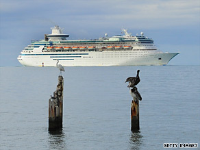 Royal Caribbean's ships are still stopping in Haiti.