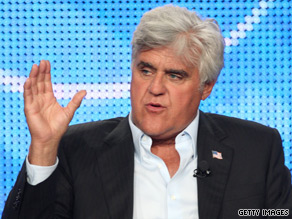 Comedian Jay Leno will headline the annual White House Correspondents' Association dinner in May, the group said Friday.