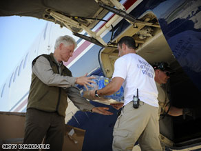 Former President Bill Clinton's heart troubles come as he was embarking on a busy schedule, recently working on relief efforts for earthquake- ravaged Haiti.