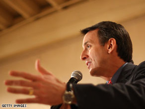 Gov. Tim Pawlenty distanced himself from the Bush administration in an interview with Esquire Magazine published Friday.