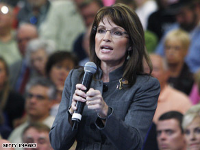 A top Palin aide stepped down Wednesday.