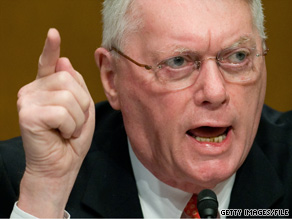 An angry Sen. Jim Bunning refused to answer questions from CNN and ABC News Monday afternoon. An ABC News producer who was there says Bunning gave him the middle finger in response to a question.