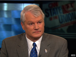 Retiring Rep. Brian Baird said Sunday that Republicans see health care reform as 'a potent political weapon.'