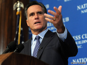 Mitt Romney attacked President Obama on Monday after his health care legislation passed.