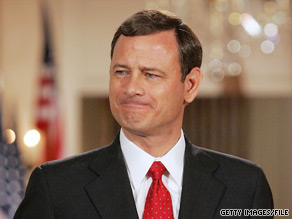 Supreme Court Chief Justice John Roberts on Tuesday said the annual State of the Union address has 'degenerated into a political pep rally.'