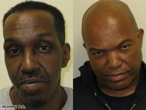 Philander Hampton and Lee Evans have been charged with five counts of murder and arson.