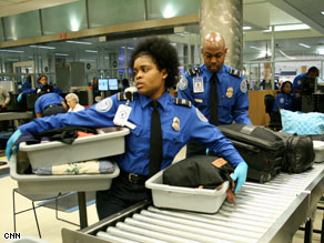 President Obama's TSA nominee said Wednesday that he supports unionization for airport screeners.