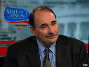 Obama senior adviser David Axelrod told CNN that recent reports of threats and violence should not overshadow the administration's accomplishments in the last week.