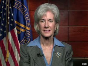 'We intend to follow the law,' HHS Secretary Kathleen Sebelius said Monday on CNN.