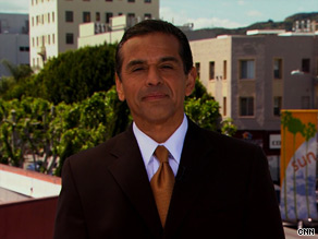 LA Mayor Antonio Villaraigosa told CNN that the city is being 'very aggressive about reaching out' to historically under-counted groups.